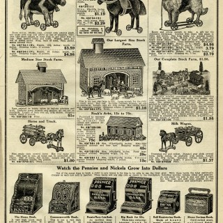 Vintage Catalogue Page of Toys ~ Free Graphic