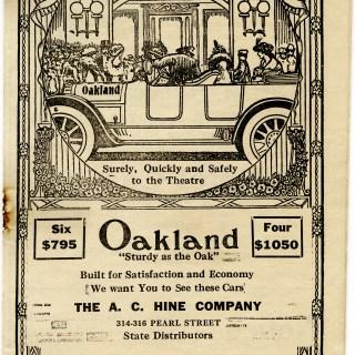 Antique Theatre Program Cover ~ Free Graphic