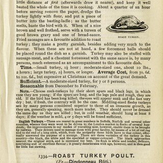 Ways to Cook Turkey ~ Free Vintage Graphics
