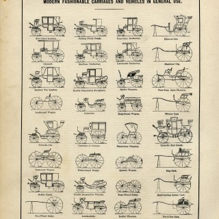 Carriages and Vehicles ~ Free Vintage Graphic