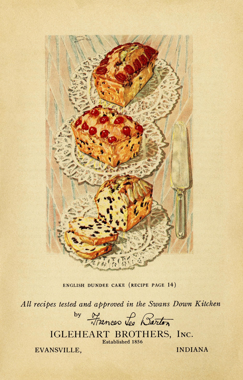 Vintage Cake Clip Art and Recipes Old Design Shop Blog
