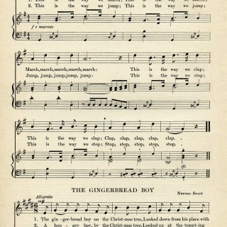 Vintage Sheet Music Pages