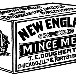 New England Mince Meat Advertisement