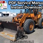Fiat Allis FR10B Wheel Loader Service Manual
