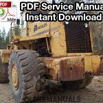 Fiat Allis FR35 Wheel Loader Service Manual