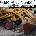 Case Model 31 Loader & Backhoe Operator's Manual