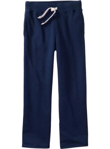 Old Navy Mens Jersey-Fleece Sweatpants