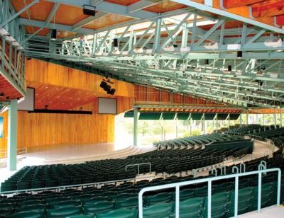 Covered Stadium Seating