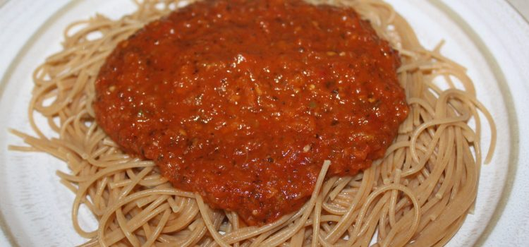Freezer Spaghetti Sauce Recipe Made With Fresh Tomatoes