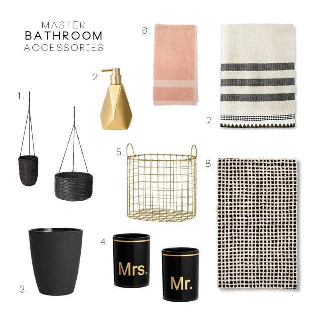 Master Bathroom Accessories
