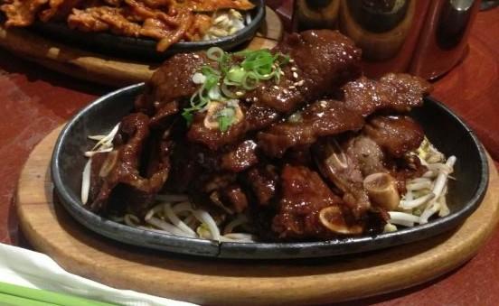 Kimchi Grandma - Gal-bi (beef spareribs)