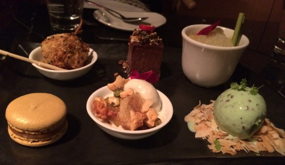 Red Spice Road - Dessert Tasting Plate.