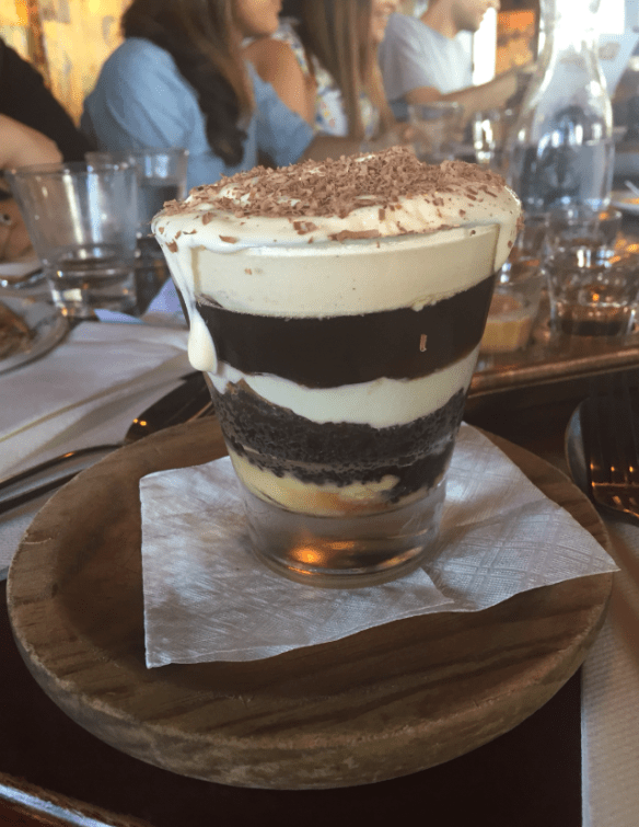 Naked for satan - Oreo trifle