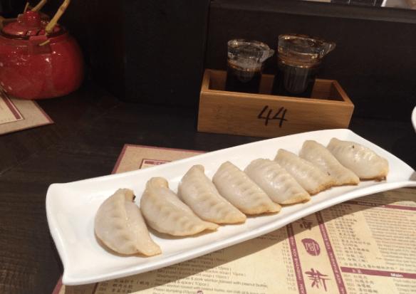 New Shanghai - Pan fried pork dumplings