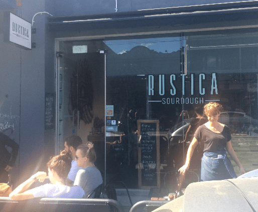 Rustica Sourdough - Street view