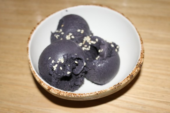 Kong - Black sesame ice cream