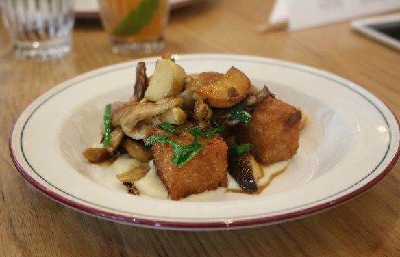Supernormal - Sauteed mushrooms w rice cakes & sweet soy