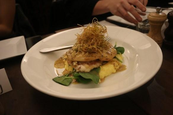 Fitzrovia - Chicken saltimbocca w polenta