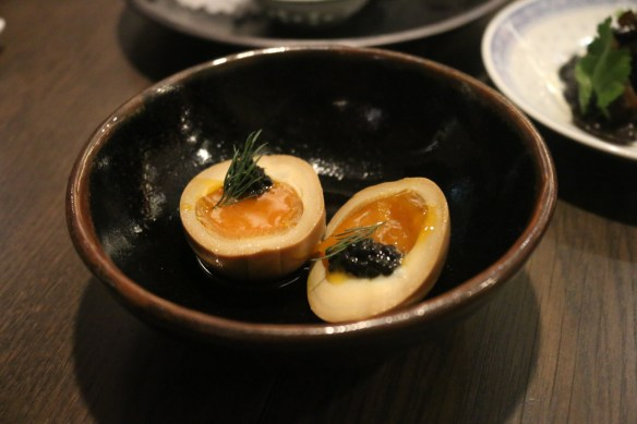 Lee Ho Fook - Tea egg w avruga and dill