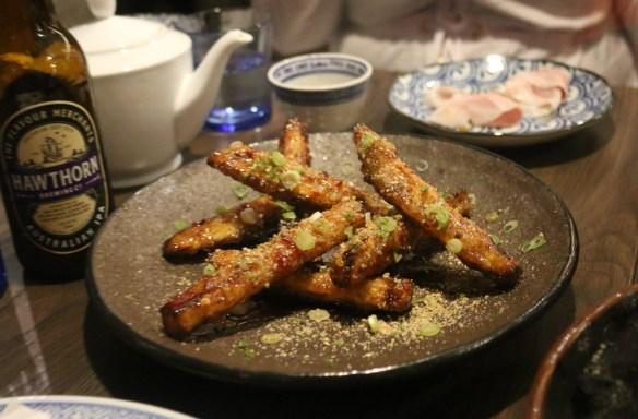 Lee Ho Fook - Crispy eggplant w red vinegar