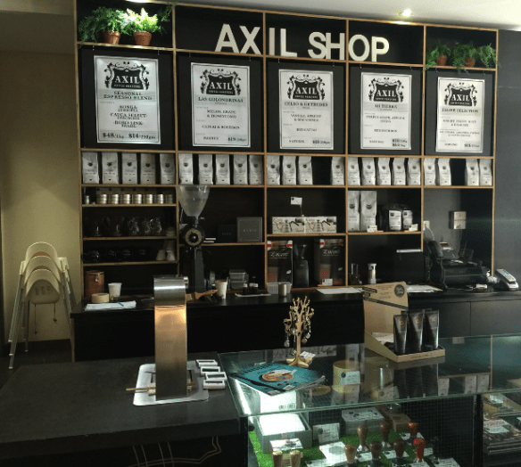 Axil coffee roasters - Axil shop