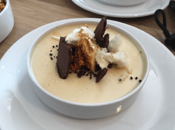 Mammoth - Golden gaytime panna cotta