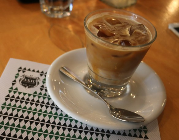 Axil coffee roasters - Iced latte
