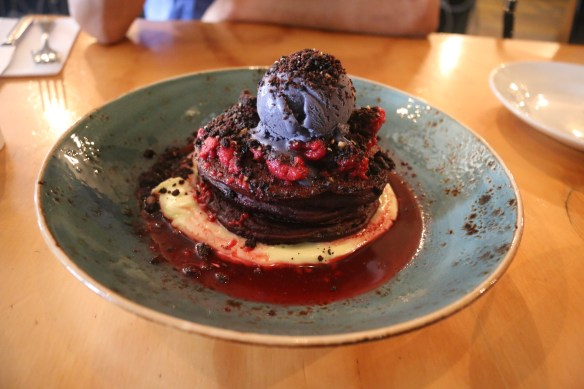 Axil coffee roasters - Red velvet pancakes