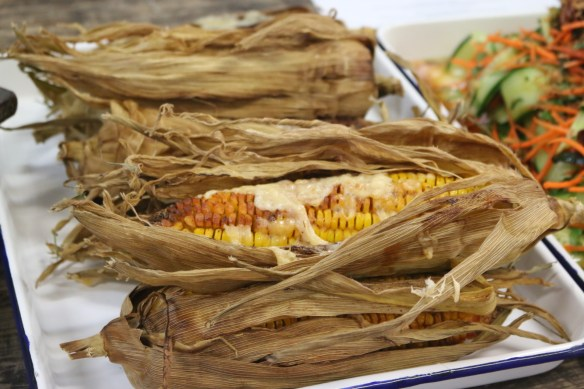 Meatworks - Roasted corn w parmesan and chipotle mayo