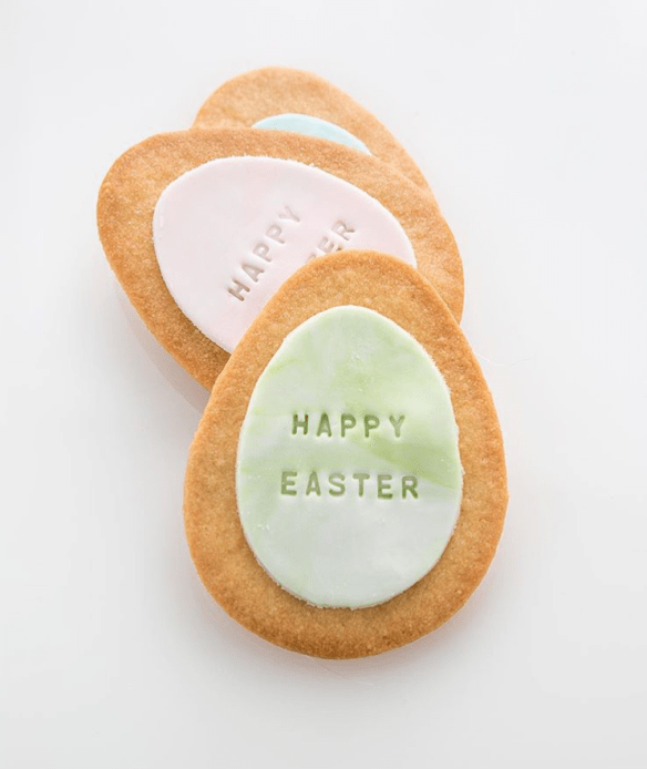 Luxbite - Easter shortbread biscuits (image via instagram:@glen_yeo)