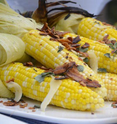 Loaded Corn on the Cob — Olivio
