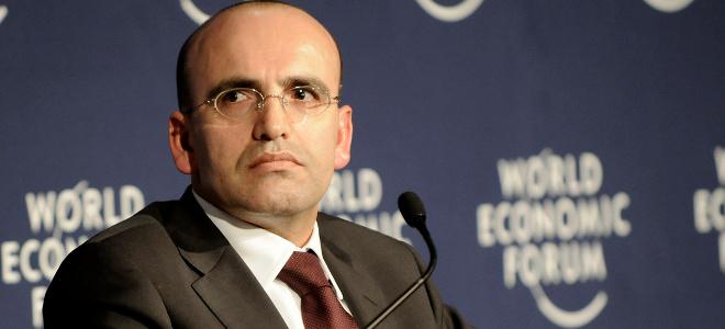 Τούρκος υπουργός Οικονομικών Μεχμέτ Σιμσέκ.