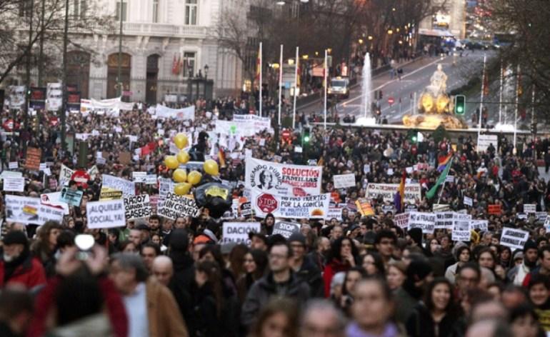 διαδηλωση Πορτογαλια
