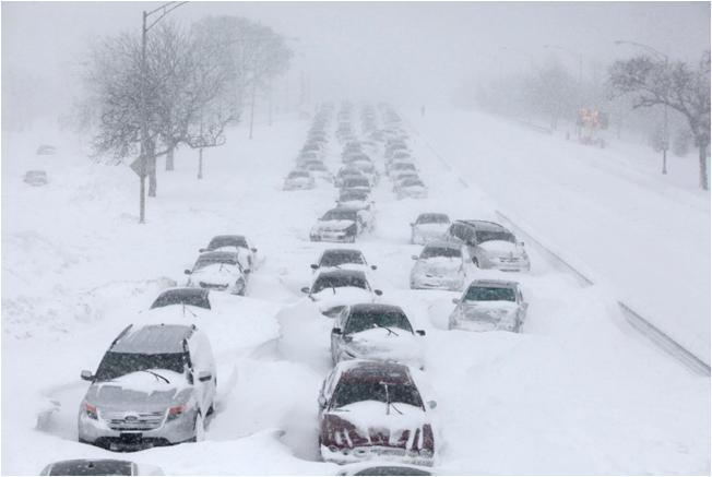 χιονι ΗΠΑ