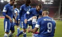 Επικεφαλής και στα προκριματικά του Euro 2016 η Ελλάδα