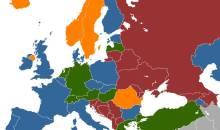Ο χάρτης της πορνείας στην Ευρώπη