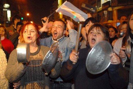 argentina manifestacion