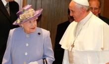 Όταν η βασίλισσα Ελισάβετ συνάντησε τον Πάπα Φραγκίσκο – Είναι ο πέμπτος Πάπας που συναντά