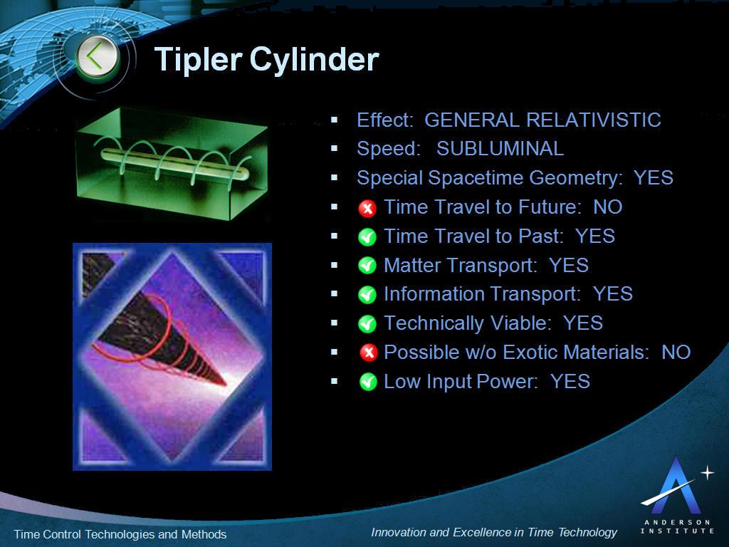 tipler-cylinder-characteristics