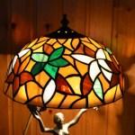 csodaszép tiffany lámpa