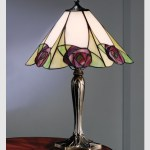 Tiffany lámpa - rose