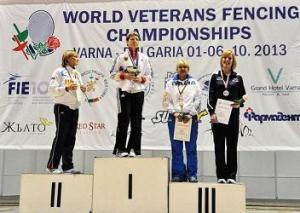Veterans World Fencing Championships 2013