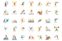 Free Olympic Sport Icons
