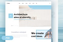 selena website template psd