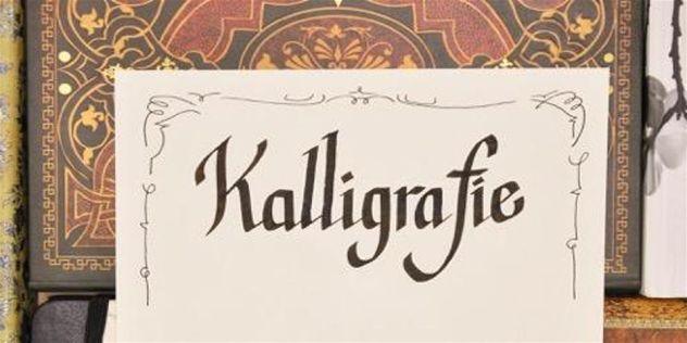 Workshop: Kalligraphie