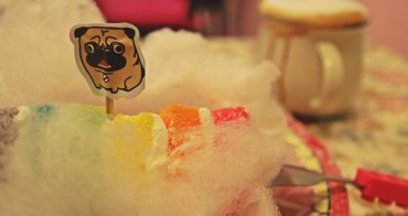 《美食*桃園》老咩。不管幾歲都是妹!少女系彩虹雲朵蛋糕