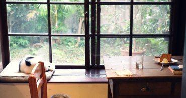 《花蓮貓咪餐廳》時光1939。日式老宅內的蔬食料理,街貓舊書咖啡香