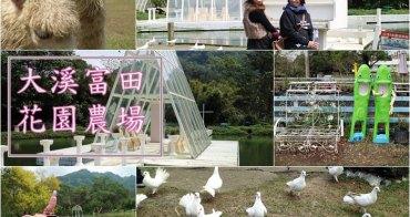 《旅遊*桃園大溪 》富田農場。適合親子 寵物 情侶同遊,歐式浪漫花園水晶教堂