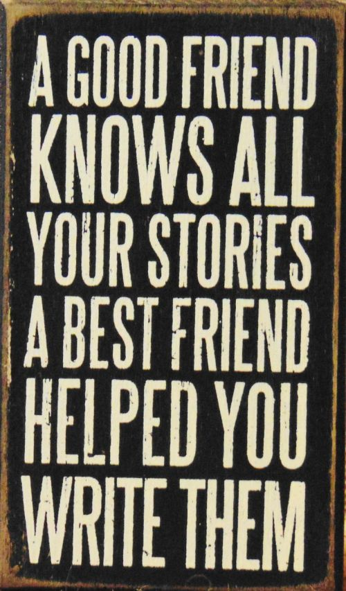Picturesque Life Quotes Inspiration A Good Friend Knows All Your Stories A Friend Helped You Write M This Friend Quotes Short Friend Quotes Deep