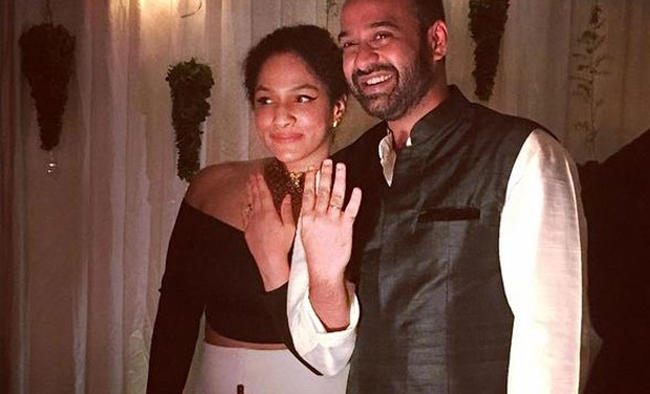 Neena Gupta daughter, Masaba engagement with Madhu Mendata